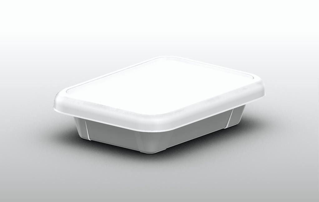 Plastic tray 170 ml