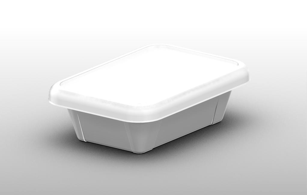 Plastic tray 250 ml