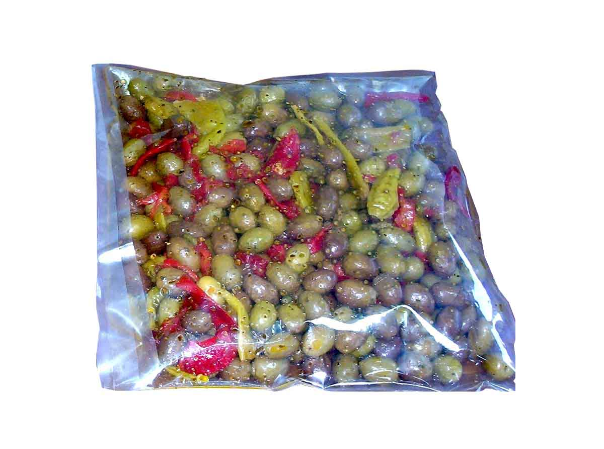 Bag Greek Green Olives
